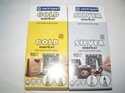 Маркер золотой и серебренный