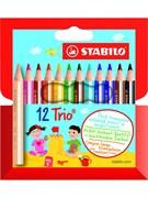Набор цветных карандашей 12 цв. Stabilo 205/12-01