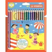 Набор цветных карандашей 18 цв. Stabilo 203/18-01