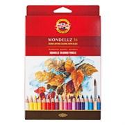 Набор акварельных цветных карандашей 36 цв. Mondeluz KOHINOOR 3719
