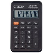 Карманный калькулятор CITIZEN LC-210N